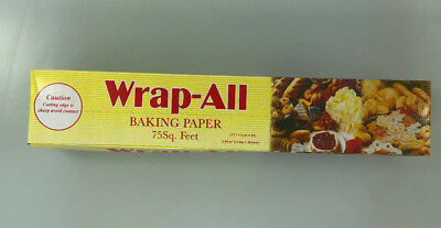 Wrap-All Baking Parchment Paper Rolls - choose your size. Professional Quality