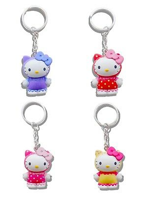 Genuine Sanrio Hello Kitty Scented 3D Keyring Fob Key Ring UK Licensed Product