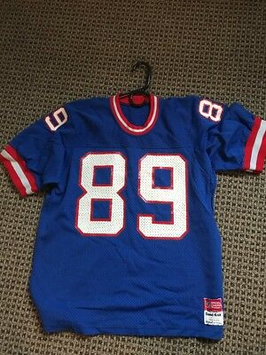 Rare Vintage Mark Bavaro New York Giants Jersey Sand Knit Nfl Size L  89 277997ce7