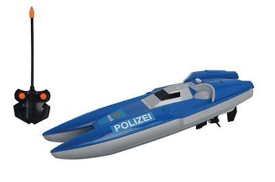 Ferngesteuertes Boot  RC Polizei Boot RTR Dickie Toys
