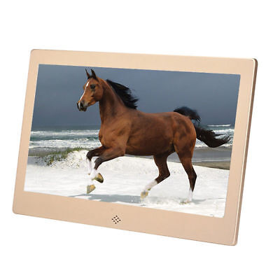 10'' HD Digital Photo Frame Super Thin Electronic Album Video Player Family Gift