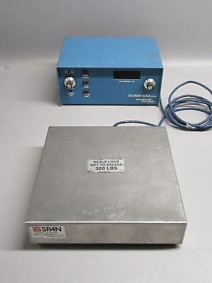 Semi Gas Systems Cylinder Scale CS-350A w/ SPAN GCS 300 Scale
