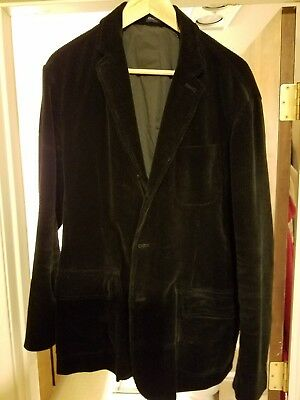 Lauren Ralph Lauren Blazer Size 42R Men Cotton Corduroy Suit Jacket