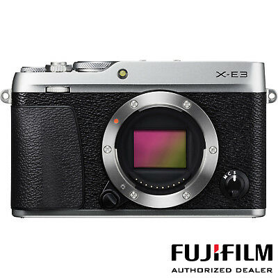 Fujifilm X-E3 Mirrorless Camera (Body Only - Silver) ***USA AUTHORIZED***