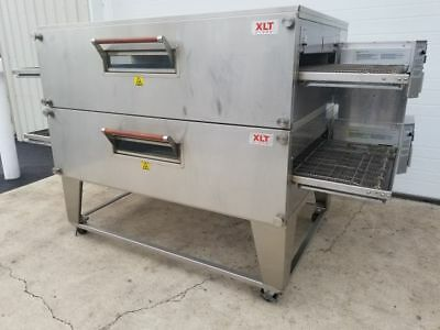 "Xlt Model 3270 Double Stack Gas Pizza Oven ***32"" Belt Width***"