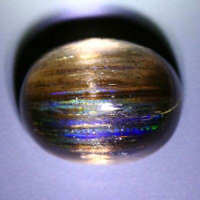 15.23 Cts_Don't Miss It_100 % Natural Rainbow Rutile Scapolite Cat's Eye_Brazil