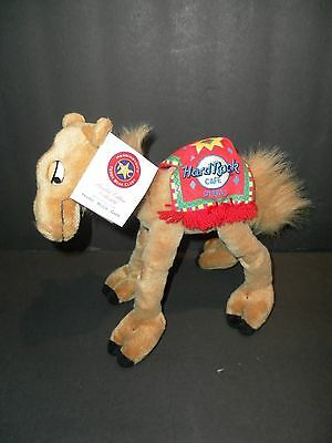 2001 NEW DUBAI HERRINGTON PLUSH POSEABLE JOINTED CAMEL Hard Rock Cafe
