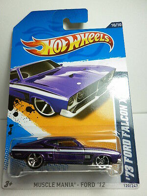 Hotwheels Falcon Xb Ford Xa 351 Unopened Rare Violet W/wide Sharp Card !