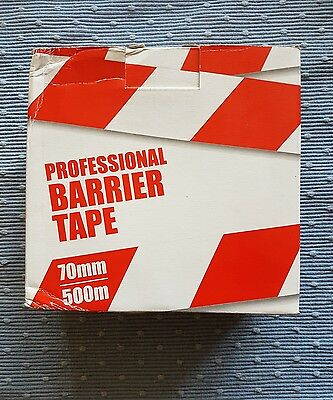 Barrier Tape 70mm 500m Professional