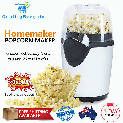 Hot Air Popcorn Maker Machine Kitchen Tool Cooking Corn Popper Cooker Container