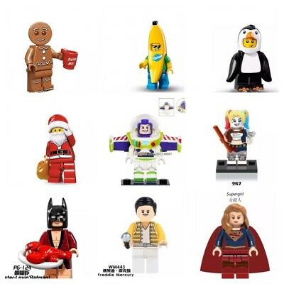 Mini Figures TV  & Film Characters Harry Potter- DC- Marvel Heroes & More New