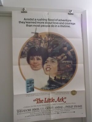 THE LITTLE ARK one 1 sheet movie poster interducing GENNY AMBAS & PHILIP FRAME