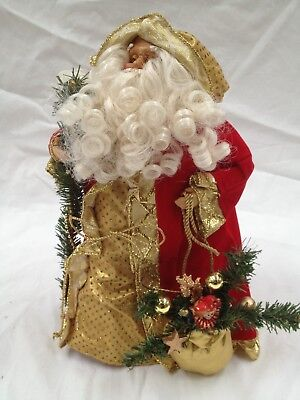 Santa/ Father Christmas Tree Topper Or Free Standing Was $39.00