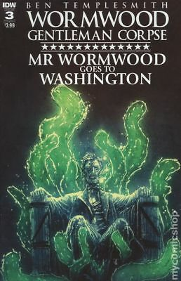 Wormwood Goes to Washington (IDW) #3A VF Stock Image