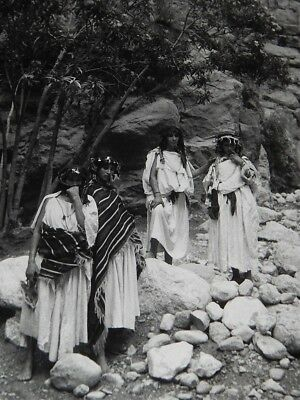 """Time Life Pro~Weldon King (Marked & Noted) Photo~Berber Tribeswomen~10.25""""x13.25"""