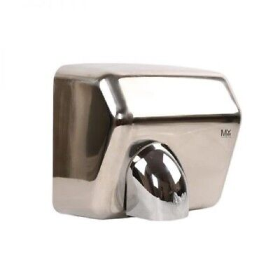 Wall Mounted Automatic Polished High Speed Hand Dryer Commercial Grade Bathrooms