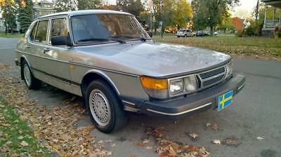 1986 Saab 900 S Original Owner 29 Years, Maintaind by SAAB Dealer LO MILES C900 Classic SAAB 900