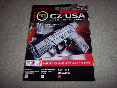2017 CZ - USA Collectors Edition Catalog Magazine hunting pistol rifle 9mm .223