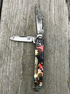 VINTAGE 2 Blade Pocket Knife