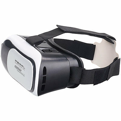 auvisio Virtual-RealityBrille VRB58.3D f. Smartphones, 3D-Justierung (refurb.)