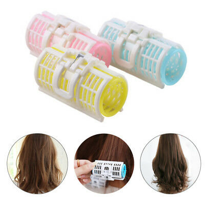 Two Size Spiral Curls Tool Hair Curlers Plastic Sleep New 3Pcs Hair Rollers