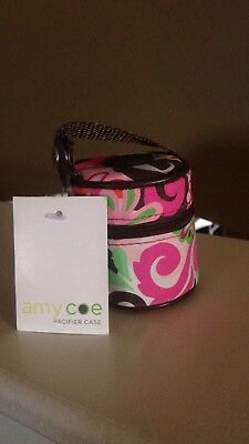 Amy Coe Soothie Pacifier Pod, Holder Case for Baby Binkie