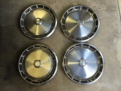 Rare Old Classic Ford Falcon Xa Xb Xc Gt Gs 351 V8 Fairmont Set Of Four Hubcaps