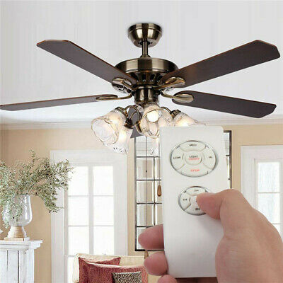 Universal Ceiling Fan Lamp Remote Control Kit Timing Wireless Control 110-240V