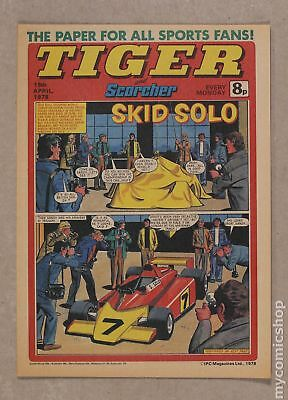 Tiger Tiger and Hurricane/Tiger and Jag/Tiger and Scorcher #780415 1978 NM 9.4