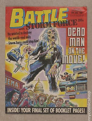 Battle Picture Weekly (UK) #870613 1987 FN 6.0