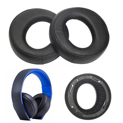 AU Ear Pad Cushion For Sony Blue Gold Wireless Stereo Headset PS3 PS4 7.1 L R