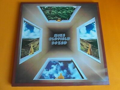 Box 4 Lp  Mike Oldfield  -  Boxed  (1976 Italien-Pressung Mit Inlet)  Mint-