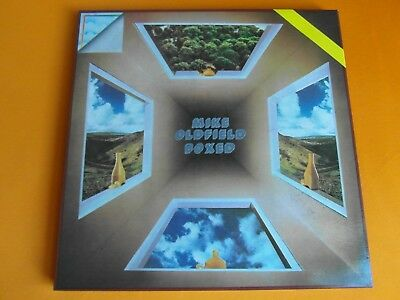 Box 4 Lp  Mike Oldfield  -  Boxed  (1976 Italien-Pressung Aorl 48509)  Mint-