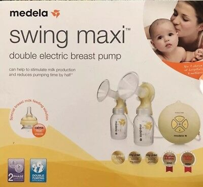 Medela Swing Maxi Double Electric Breastpump. Purchased Sept 17, Used Once