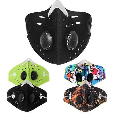 Motor Cycle Motorcycle Bicycle Ski Anti-Pollution Half Face Dust Mask Filter