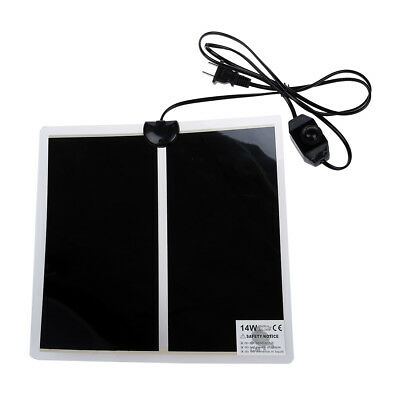 "AC 220-240V 14W 11"" x 11"" Heating Warmer Pad Bed Mat for Pet Dog Cat M2Y1"