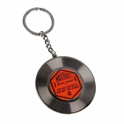 Official Musicology Vinyl Record Key Ring