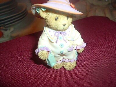 "Cherished Teddies-Halloween-""cora"" You've Put A Spell On My Heart -  Avon"