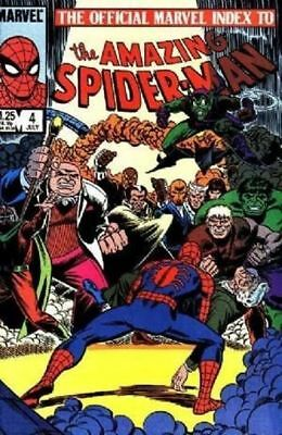 Offical Marvel Index To Amazing Spider-Man #3 (1985) 1St Print  Marvel Comics