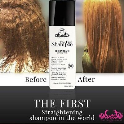 Brazilian Blow Dry Kit First Sweet Shampoo 30 ml for one treatment