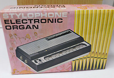 Stylophone Electronic Organ - In Box with Booklet - Not Working-  For Parts