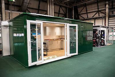 Shipping Container-style Glamping Pod