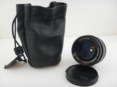 Contax 85mm f2.8 T* Sonnar Carl Zeiss Lens Obiettivo Excellent Condition