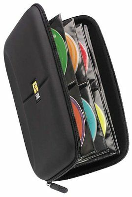 CD Wallet DVD Case Storage 48 Disc Capacity Organizer Personal Travel NEW