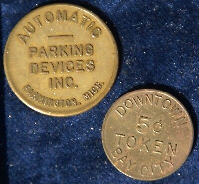 Michigan Parking Tokens - Bay City - Farmington MI Parking Devices Inc.