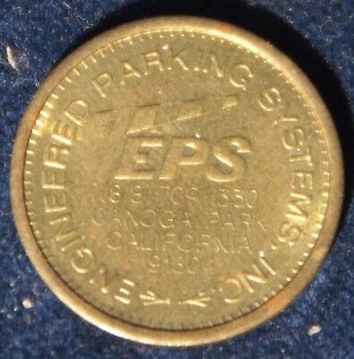 California Parking Token EPS Engineered Parking Systems Canoga Park CA