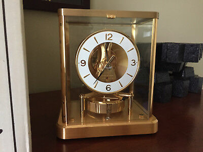 Jaeger LeCoultre Atmos 540 Mantle Clock With Original Box