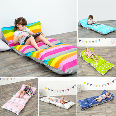 Floor Lounger Seat Pillow Cover Home Kids Teens Queen Size Plush Cushion Bedding