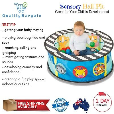 New Sensory Ball Pit Baby Toddler Kids Activity Learning Tent Play Toy Fun Safe