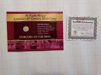 Merury Silver Dime Complete History of Silver Coins 1941